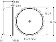 Temperature Micro-logger Dimensions
